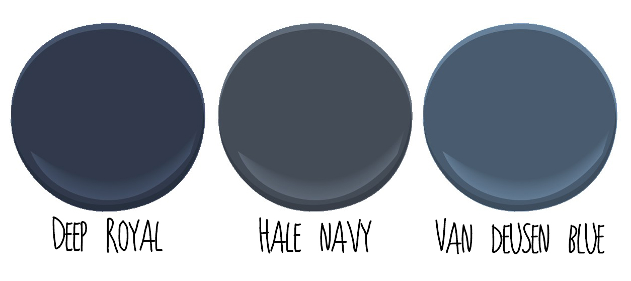 Monday Color Inspiration Dark Blue The Easypaint Blog