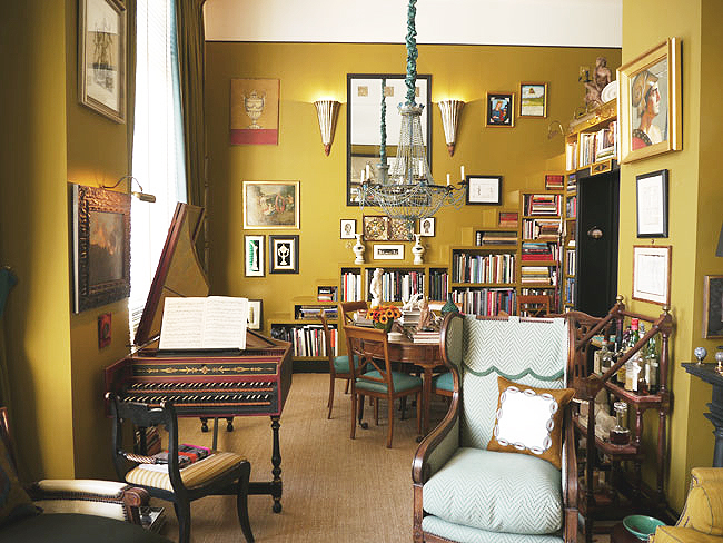 Living Room Colors India monday color inspiration: india yellow and the spice trade - the