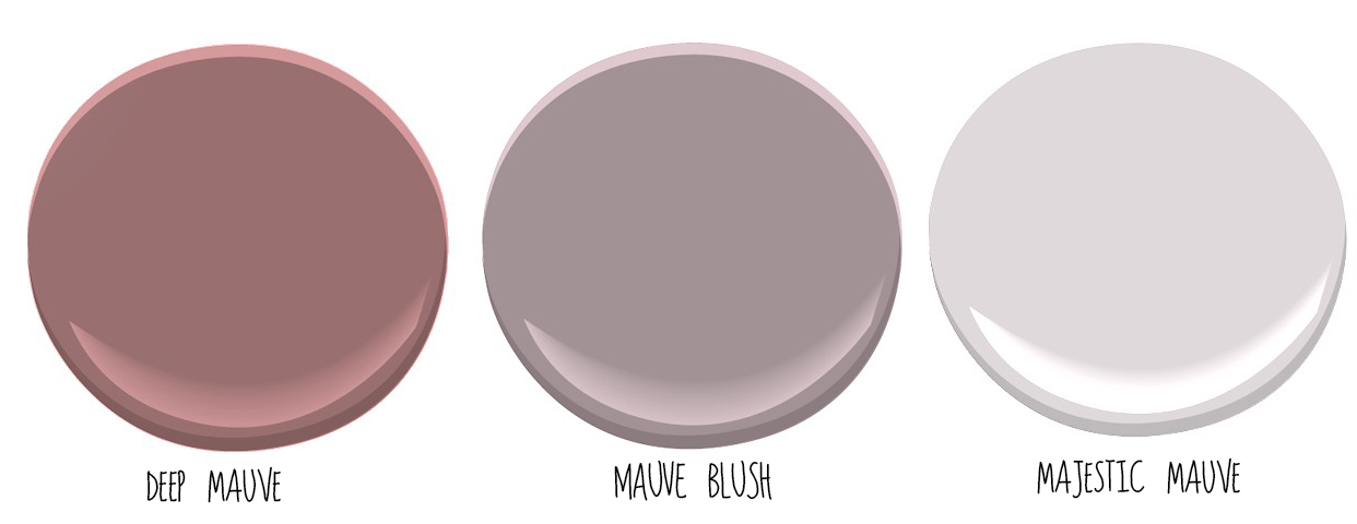 Mauve Color Paint
